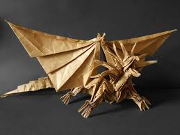 craft ideas and art projects dragon origami for kids