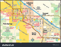 Peoria Il Zip Code Map by Palm Springs California Area Map Stock Vector 138844199 Shutterstock