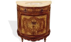 Repainting Bathroom Vanity Vanity Half Moon Brown Crackle Furniture Finds U0026 More