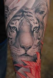 half sleeve tiger for all about 247 pw