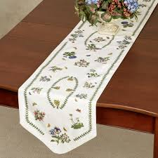 table runner botanic garden table runner from portmeirion