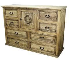 Pine Bedroom Dresser Dresser Rustic Pine Dresser Nightstand Front View