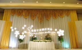 wedding backdrop curtains for sale hotsale white and gold wedding backdrop curtain with swag