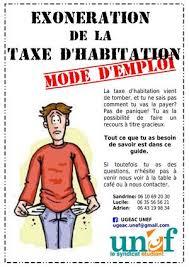 taxe d habitation chambre chez l habitant calaméo exonération de la taxe d habitation