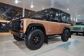 range rover defender 2015 land rover says goodbye to the defender in geneva with 3 special