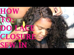 sew in with lace closure utv