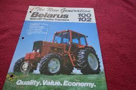 belarus 100 102 tractor dealer u0027s brochure dcpa2 u2022 14 99 picclick