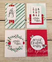 easily make christmas cards using the watercolor christmas project