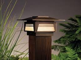 Outdoor Post Light Fixtures by Led Outdoor Post Light Fixtures U2014 All Home Design Ideas
