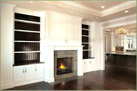 fireplace built in cabinets fireplace cabinet ideas our transformed fireplace before after