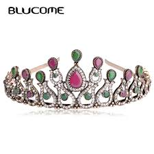 jewelry made from hair aliexpress buy blucome vintage women bridal tiara