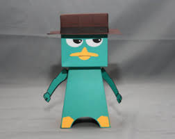handmade perry the platypus etsy