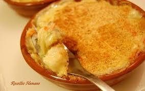 cuisiner noix de jacques surgel馥s gratin de noix de jacques aux petits légumes recettes by hanane