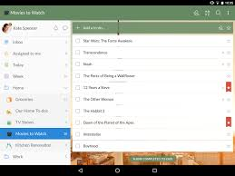 how to use wunderlist app for android to do list u0026 tasks