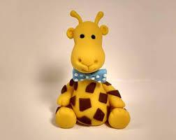 giraffe baby shower cake giraffe cake topper etsy