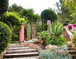 gravel garden design ideas uk stone garden design with cream stone