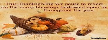 Happy Thanksgiving Sayings For Facebook Thanksgiving Facebook Covers Thanksgiving Fb Covers Thanksgiving