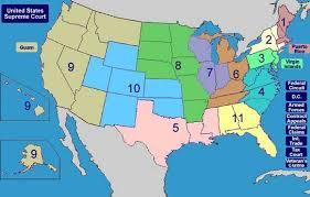 federal circuit court map regulatory procedures manual 2 1 the u s federal judicial system