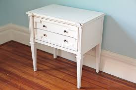 bedroom stunning shabby chic nightstand table white distressed