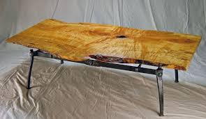 coffee table cool live edge wood slab coffee table live edge