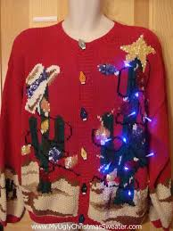 up ugly xmas sweater cactus bling holy grail of fun