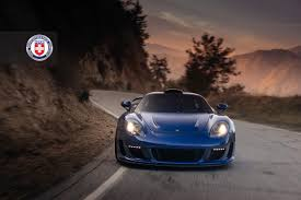 gemballa mirage 911 gemballa mirage gt goes canyon carving wearing hre performance wheels