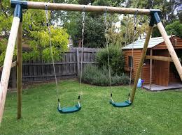diy swing set plans diy