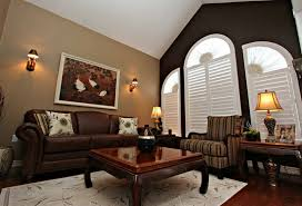 which paint color goes with brown furniture photos of the