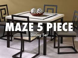 Maze Kitchen Table - american freight discount dining room sets by americanf