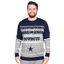 cowboys sweater dallas cowboys light up sweater other accessories