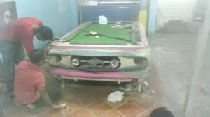 Mustang Pool Table Mustang Pool Table Finishing Process Short Footage Only Youtube