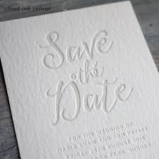 letter press calligraphy letterpress save the date by print for