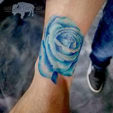 beautiful blue birthstone blossom by einck