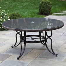 Round Outdoor Dining Tables Starrkingschool - 60 inch round wrought iron outdoor dining tables