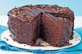 glossy choc cake recipe goodtoknow