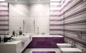 Bathroom Decorating Ideas Color Schemes Cozy Latest Interior In Ceramic Tile Along With Purple Bathroom