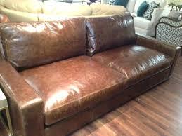 Leather Sofa Restoration Restoration Hardware Leather Sofa Bed Blitz