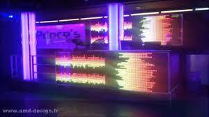 Neon Decoration Interieur Amd Design Agencement Et Décoration Discothèque Youtube