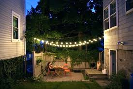 String Lighting For Patio Outdoor Patio String Lights Awesome Outdoor Lights For