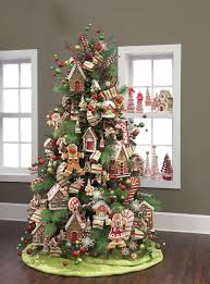 tree decoration ideas gingerbread tree and