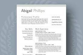 modern resume format modern resume template resume templates creative market