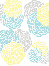 Blue And Yellow Curtains Prints Gray Yellow Teal Kitchens Floral Print Aqua Pink Gray