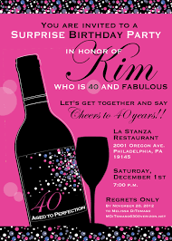 surprise 60th birthday 40th birthday invitations for her marialonghi com