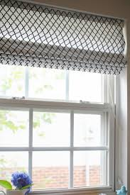 interior target curtains with cordless roman shades
