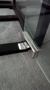 patch fitting glass door glass door patch fitting no digging hole floor spring glass door