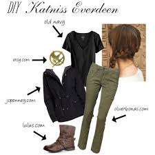 katniss costume katniss everdeen diy costume polyvore