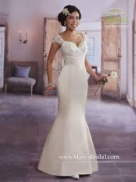 marys bridal marys bridal 2625 informal lace satin wedding dress novelty