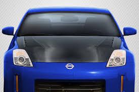 Nissan 350z Body Kits - 07 08 fits nissan 350z ts 3 dritech carbon fiber body kit hood