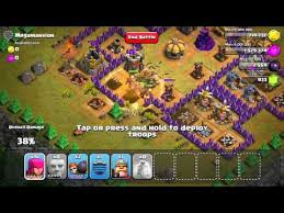 clash of clans single player level 48 megamansion updated