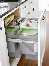Kitchen Cabinet Trash Can Best 25 Trash Bins Ideas On Pinterest Hidden Trash Can Kitchen